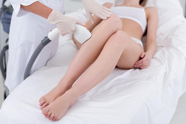 Il trattamento di epilazione laser